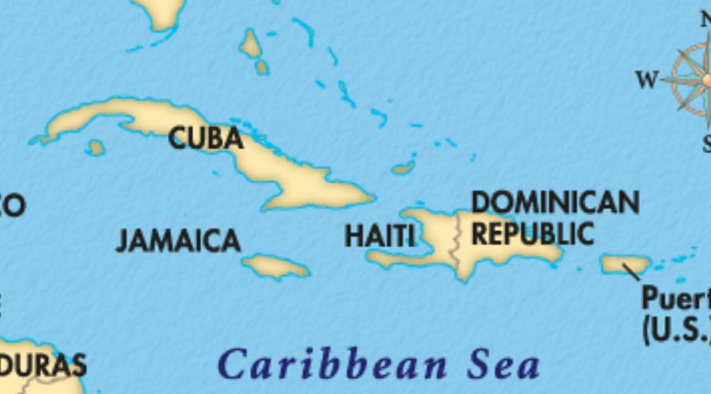 kart over den dominikanske republikk De Karibiske øyer | Tarjei Sunde's Reiseblogg kart over den dominikanske republikk