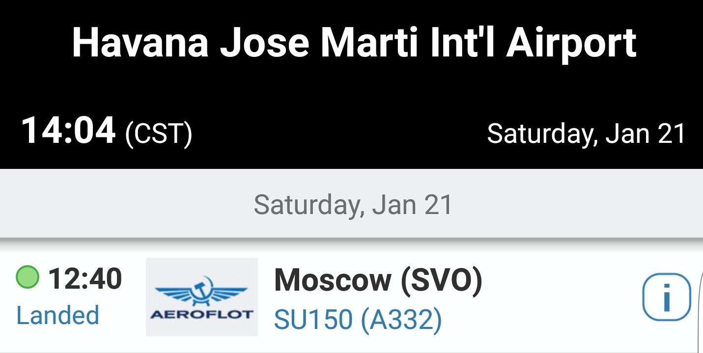 Bekreftet landing, flyet til Olav og Marianne (Flightradar24)