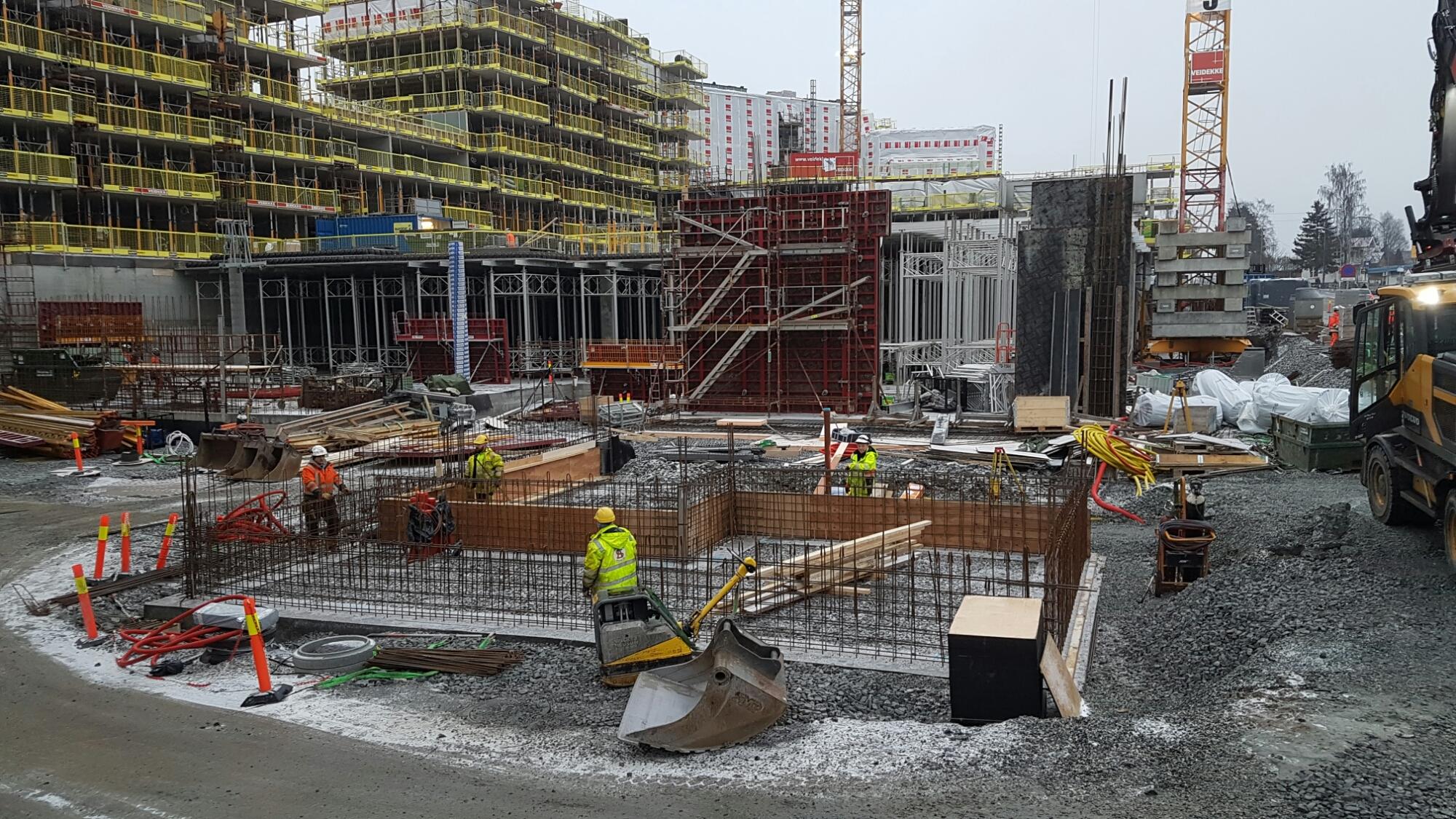 Veidekkes prosjekt Oppsal Senter (Foto: Tarjei)